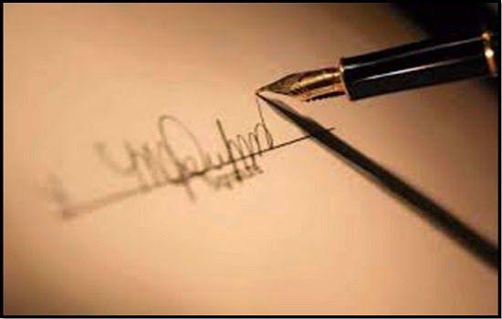 cari tahu karakter seseorang dari tanda tangannya, dan tanda tangan anda masuk kepribadian yang gimana sih?? Semua orang tahu bahwa apapun yang kita tulis...