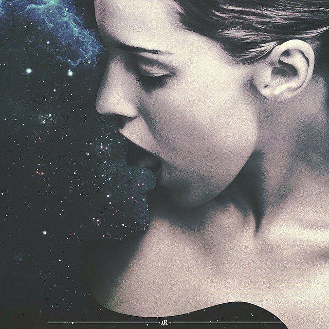 No te atrevas a arruinar mi beso.  Collage de Ilham Rambe - - (@ilhamrambe_) - - #collage #art #arte #cultura #CulturaColectiva
