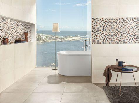 25 beste idee n over betegelde badkamers op pinterest badkameridee n en douche ruimtes - Idee outs kamer bad onder het dak ...