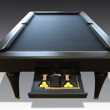 1 Bespoke pool table & tennis table. Luxury games room inspiration.