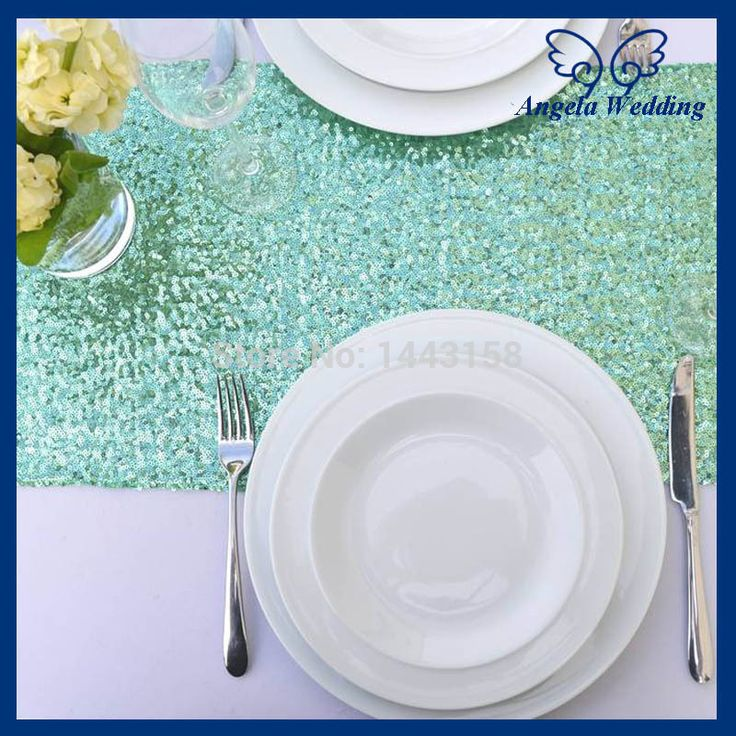 Cheap runner machine, Buy Quality table runners tablecloths directly from China table runner pattern Suppliers: 	Product Name: RU017H Cheap Wholesale Custom made glitter sequence ming green sequin table runn