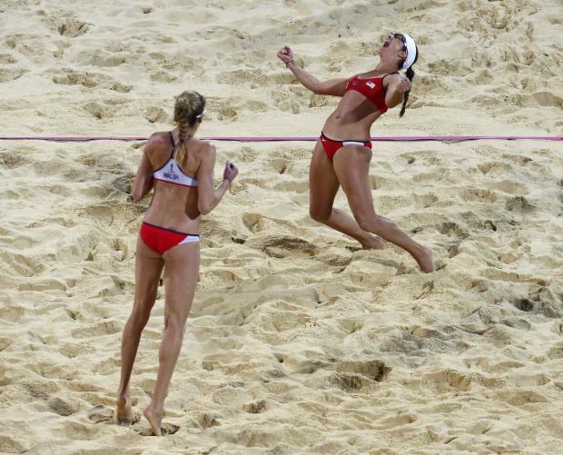 Beach volleyball-U.S. pair win third gold Olympics 2012