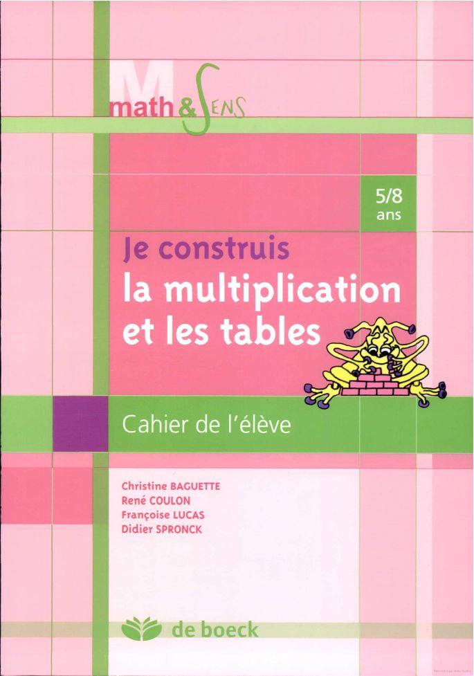 Les 56 meilleures images propos de maths sur pinterest for Voir les tables de multiplication