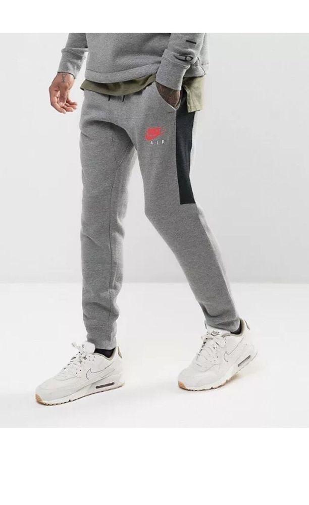 18bf6541eab6 Nike Mens Air Jogger Carbon Heather Siren Sweatpants 861626 091 Size XXL   Nike  Pants