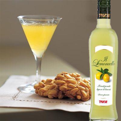 TOSCHI LEMONCELLO Ενα πολυβραβευμένο lemoncello να το πιείς στο ποτήρι...