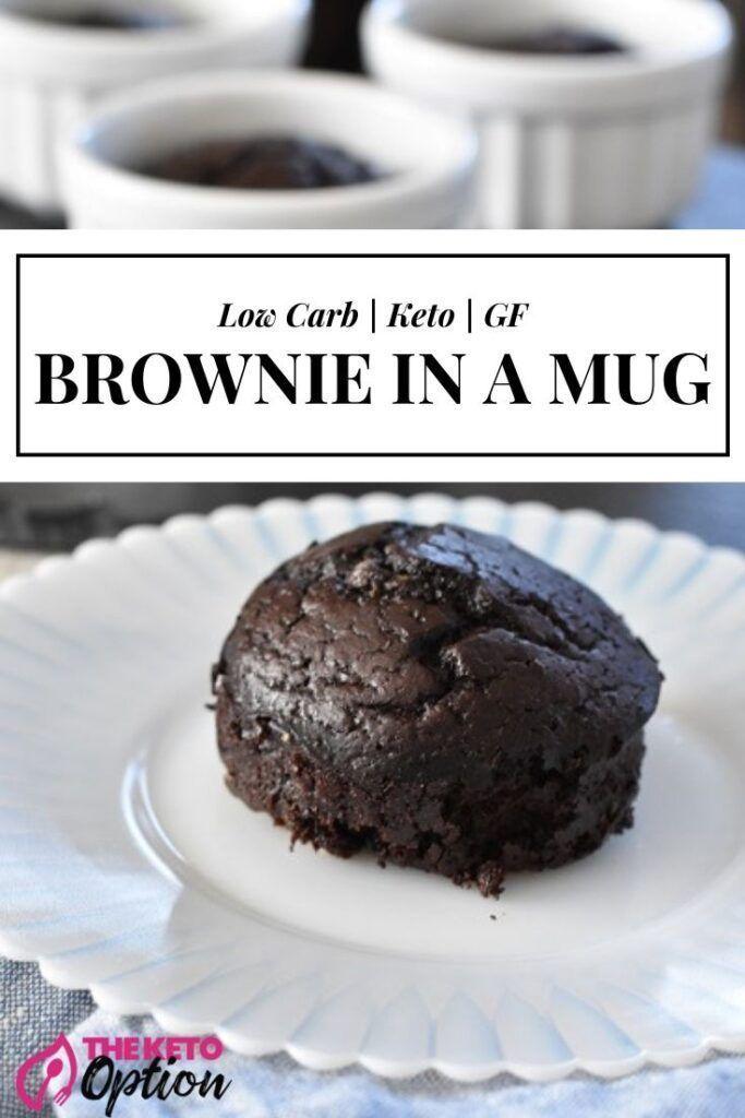Keto Brownie In A Mug This Keto Brownie In A Mug Is Absolutely