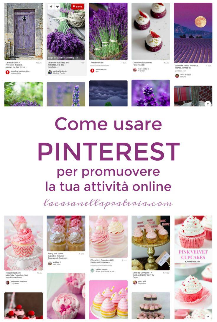 Pinterest viene spesso considerato il sito perditempo per eccellenza. Quello sul quale si pianificano le idee che poi non si avrà mai il tempo di concretizzare. Ma questa è solo la punta dell'iceberg. Si tratta un ottimo strumento per far conoscere te, la tua attività, e i tuoi prodotti o servizi.