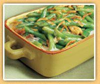 I Love green bean casserole:)