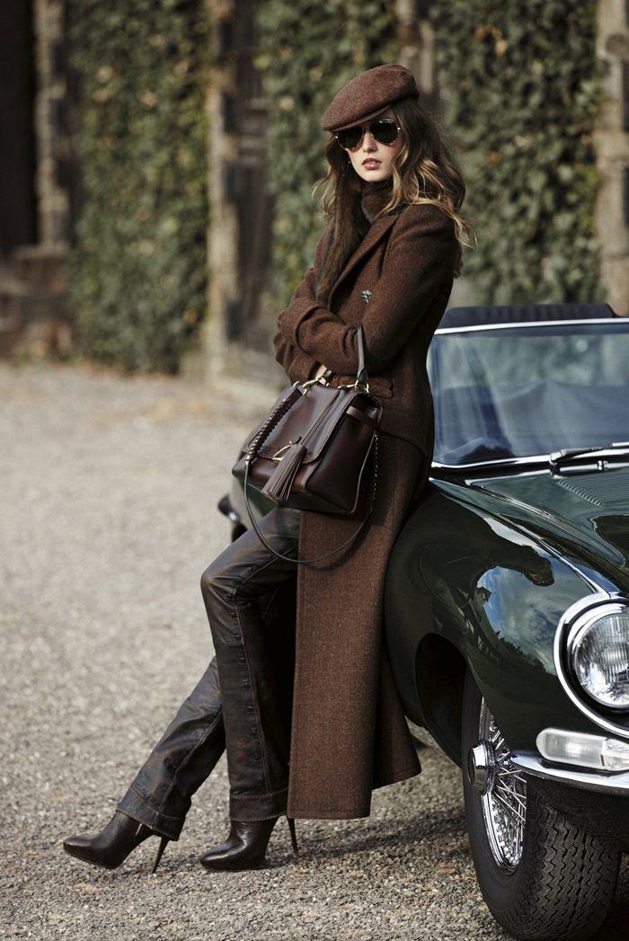 Rich autumn colours - Ralph Lauren Blue Label 2012.