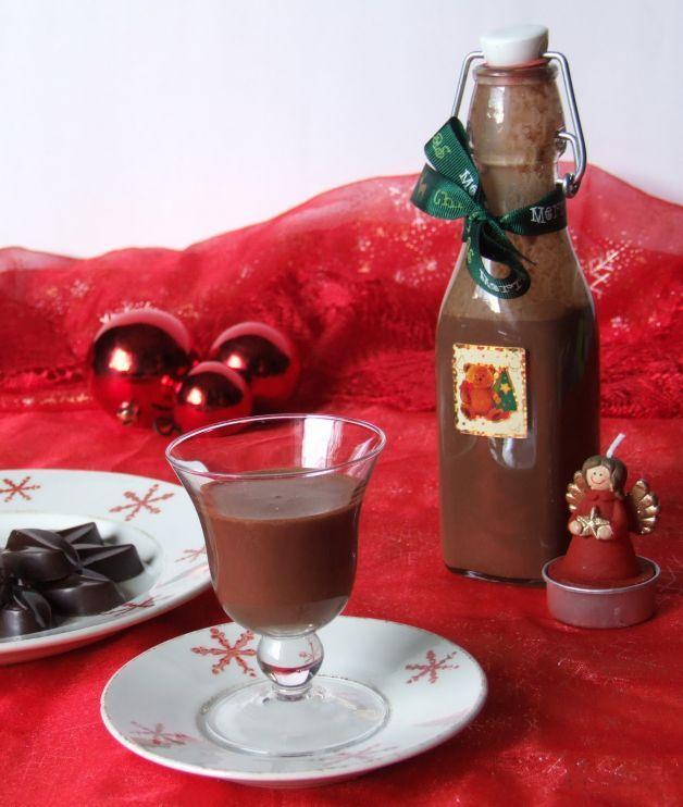 liquori fatti in casa -al cioccolato