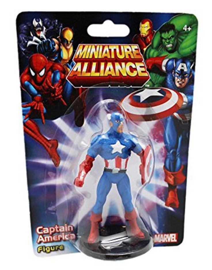 Details About Marvel Miniature Alliance Thor Spider Man