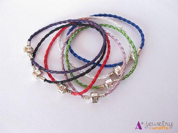 Leather leather bracelets love love bracelet by APlusJewelryCrafts