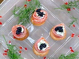 Picture of Karen's Smoked Salmon Roulade Recipe by Emeril Lagasse