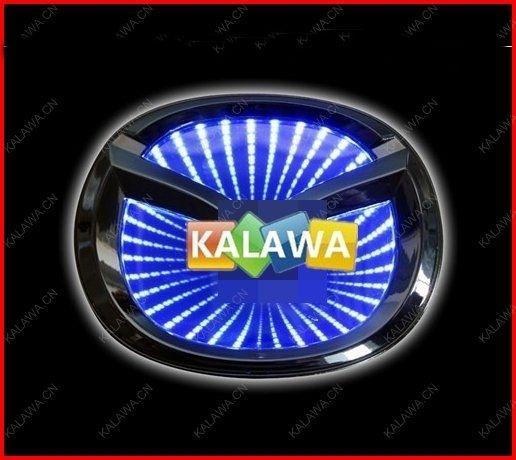 10$  Buy here - Big Logo (10.1cm*8cm) 3D laser LED emblem car badge 3D logo light rear light Replacement Case For mazida  GGG FREESHIPPING M6   #buyonline