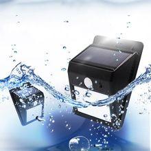 Aotom Открытый Солнечный Настенный светильник 8 LED motion sensor Водонепроницаемый солнечной лампы для Сада Путь Аварийного Освещения