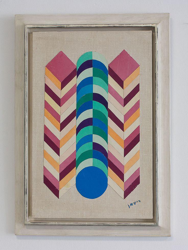 https://flic.kr/p/fRNKP8   Reitman,Israel   Reitman, Collage auf Leinwand, 1930