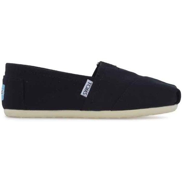 Toms Classic 001001b07blk found on Polyvore