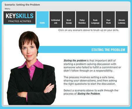 Articulate Rapid E-Learning Blog - elearning example   Developing ...