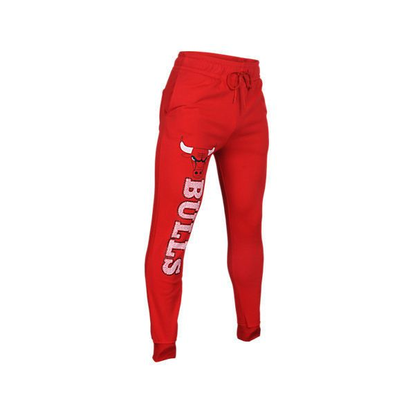 Unk Men's Chicago Bulls NBA Elephant Cuff Pants, Red ($25) ❤ liked on Polyvore featuring men's fashion, men's clothing, men's activewear, men's activewear pants, red, mens jogger sweatpants, mens activewear pants, mens activewear, mens sweat pants and mens elastic cuff sweatpants