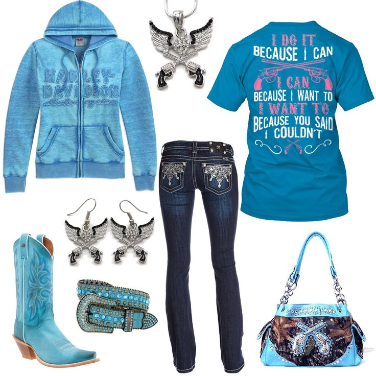 I Do It Because I Can Turquoise Outfit - Real Country Ladies
