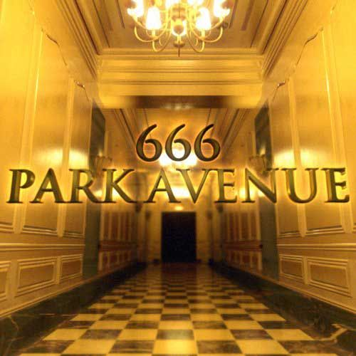 666 park avenue imagery masonic checkerboard pattern the name they