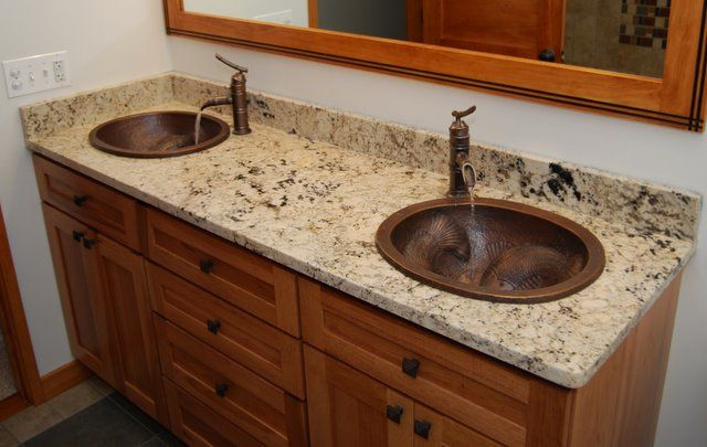1000+ Ideas About Granite Countertops Bathroom On Pinterest