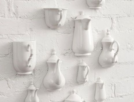 I'm scheming how  I can use my cracked, chipped favorite cups somehow....
