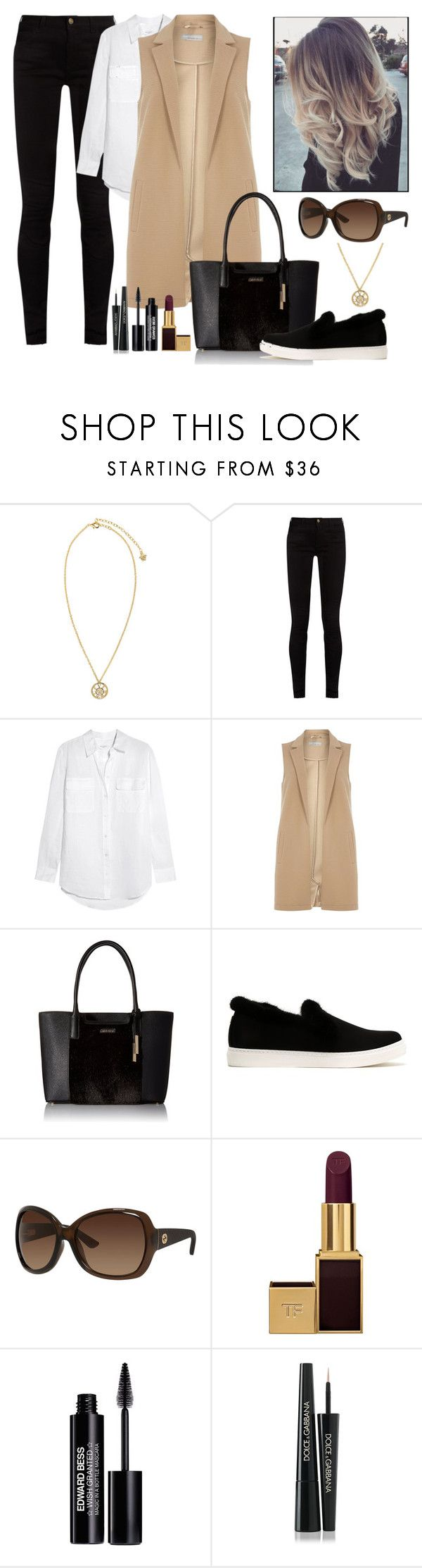 """inspired by spring casual"" by lady-on-million ❤ liked on Polyvore featuring Versace, Gucci, Equipment, mel, Calvin Klein, Sonia Rykiel, Tom Ford, Edward Bess and Dolce&Gabbana"