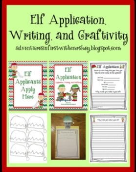 memoirs of an elf writing activity for 3rd