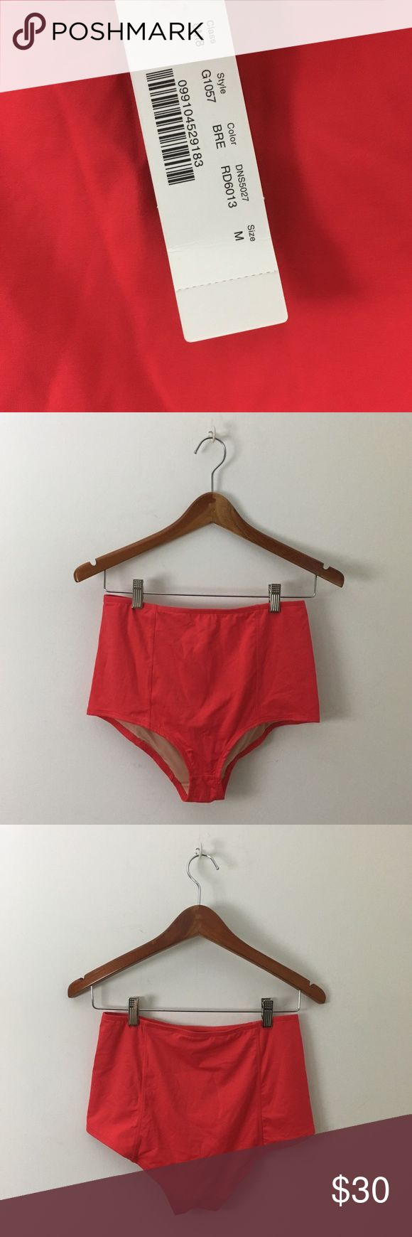 NWT J. Crew High Waist Bikini Bottoms Brand new with tags $54 J. Crew green high waisted bikini bottoms size Medium J. Crew Swim Bikinis