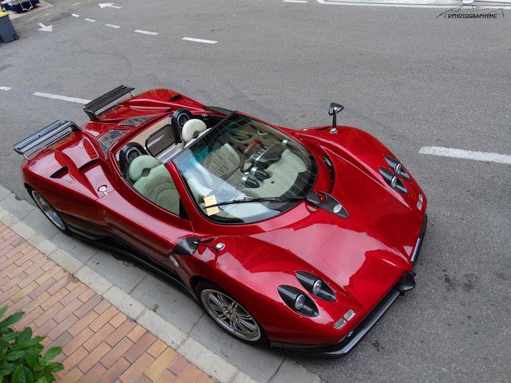 Pagani Zonda C12-S Roadster Dans Les Rues De Monaco ! By Dphotographymc
