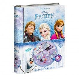 Disney Frozen Glitter Magneten