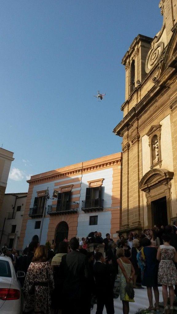 Drone, matrimonio, Sciacca,
