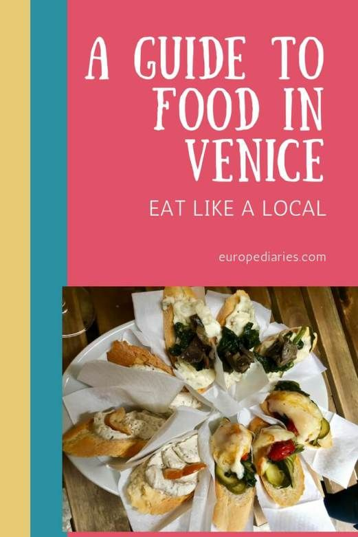 What to eat in Venice: A guide to eating and drinking like a local in Venice , italy --- #italianfood #italianstyle #venice #foodlover #pasta #pizza #foodblogger