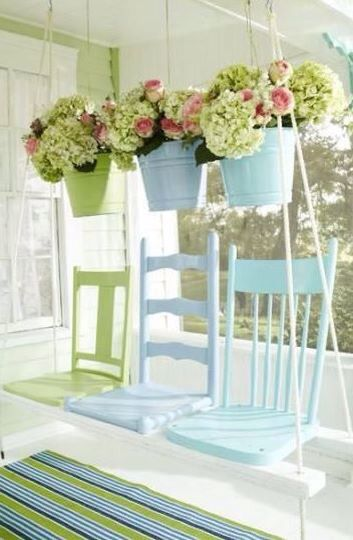 A cute unique touch a must for the famous southern front porch