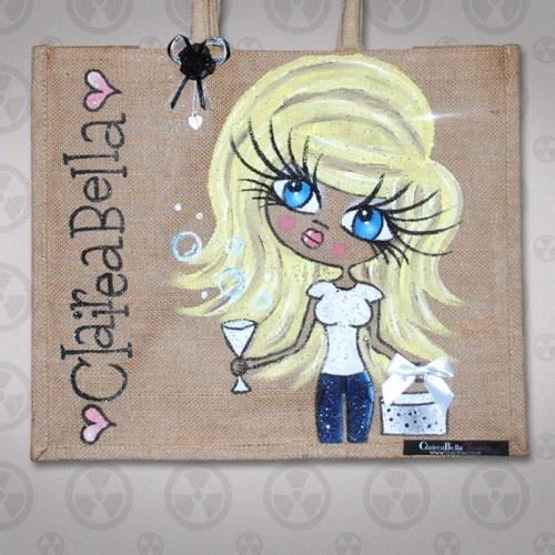 ClaireaBella Medium Jute Bag 5