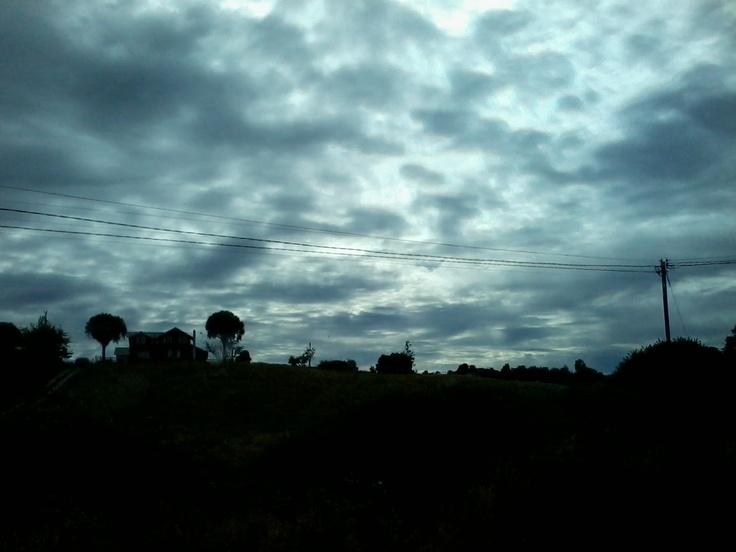Camino a Dalcahue, Chiloé.