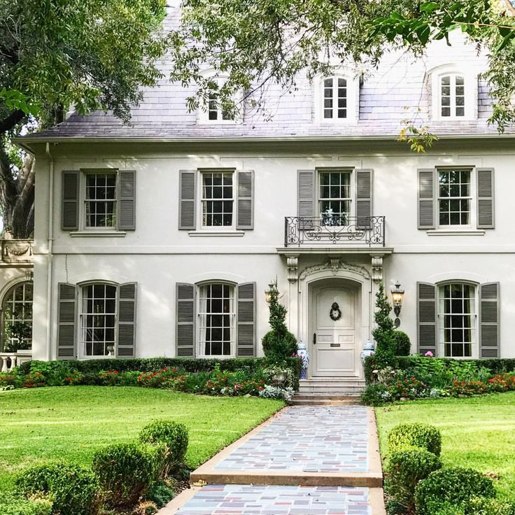 Colonial Home Design Ideas: Idea By MW Designs On Beautiful Homes ...