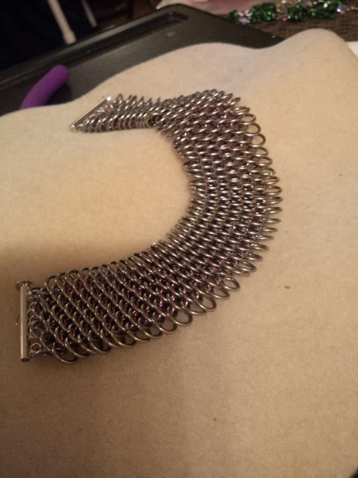 Bracelet Dragon Scale Chainmail by CTDesigns2 on Etsy