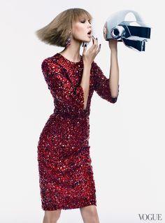 Karlie Kloss for Kate Spade