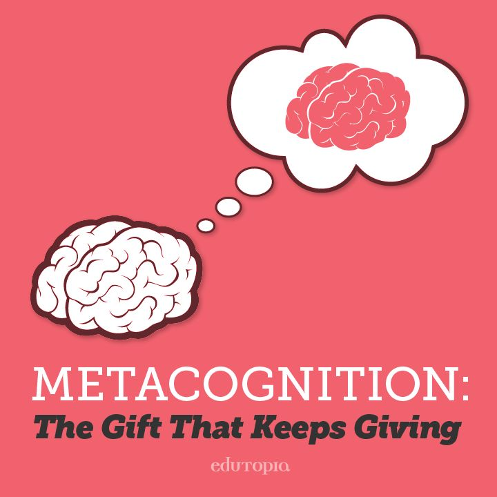 "By teaching students to ""drive their own brain"" through metacognition, we provide a concrete way to guide them to think about how they can best learn."