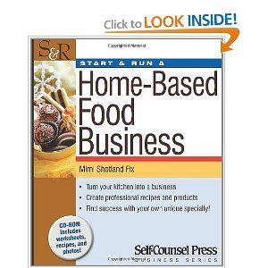 start run a home based food business start and run a by mimi shotland fix