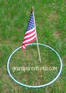July 4th Decorations, Crafts and Games - Part 2 - GrandparentsPlus.com