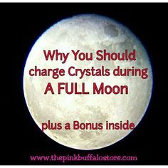 Welcome to my Blog post about Why You Should Charge Your Stones/Crystals During a Full Moon. PLUS, a bonus chart: Moon Phases & Astronomical Events! I hav