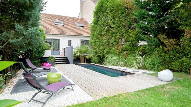 les 34 meilleures images du tableau piscines fond mobile sur pinterest gris margelle et. Black Bedroom Furniture Sets. Home Design Ideas