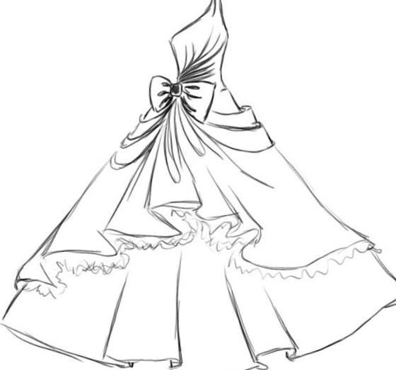 Как нарисовать свадебное платье карандашом - http://1svadebnoeplate.ru/kak-narisovat-svadebnoe-plate-karandashom-2904/ #свадьба #платье #свадебноеплатье #торжество #невеста