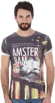 White Amsterdam Printed T-Shirt on shopstyle.co.uk