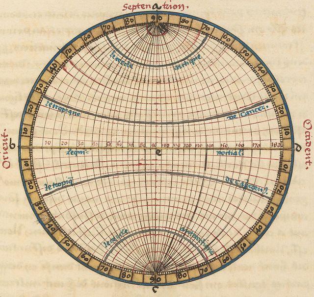 Le sphere de monde by Oronce Fine, 1549