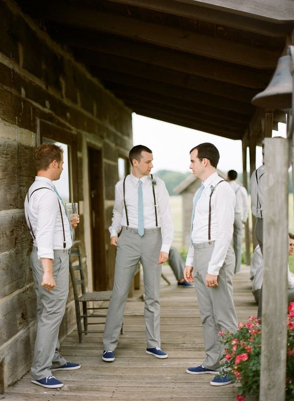 like the groomsman attire! But with Adidas sneakers....