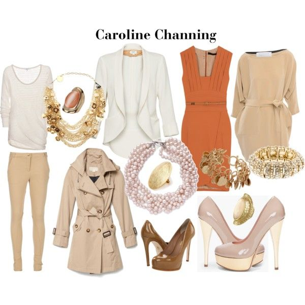 2 Broke Girls' Caroline Channing by hallonicole on Polyvore featuring polyvore, fashion, style, Elie Saab, By Malene Birger, Alejandro Ingelmo, Pour La Victoire, MICHAEL Michael Kors, L.K.Bennett and J.Crew